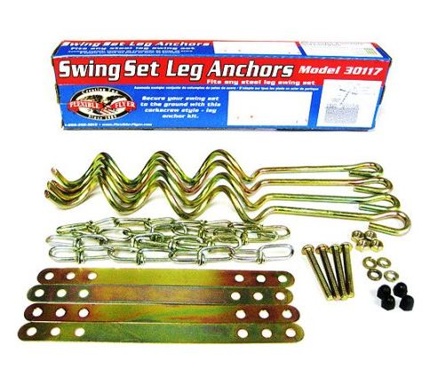 Flexible Flyer Swing Set Anchors