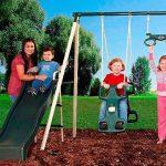 Flexible Flyer Triple fun Swing Set 2