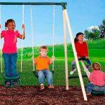 Flexible Flyer Triple fun Swing Set 3