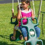 Flexible Flyer Triple fun Swing Set Walmart 2