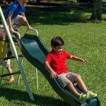 Flexible Flyer Triple fun Swing Set Walmart 3