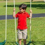 Flexible Flyer Triple fun Swing Set Walmart 4