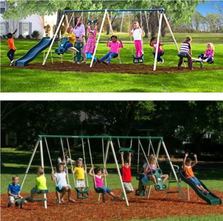 Flexible Flyer Triple fun Swing Set featured image