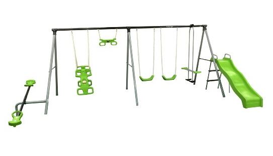 Flexible Flyer World fun Swing Set
