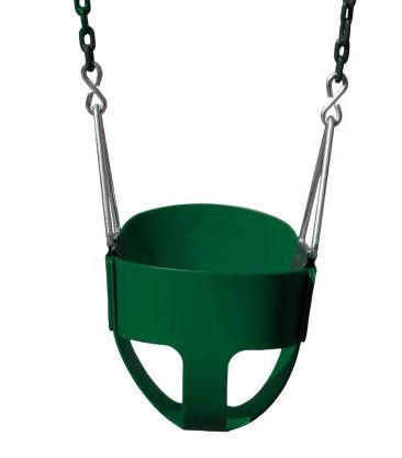 Gorilla Playsets Full Bucket Toddler Swing, Green Walmart