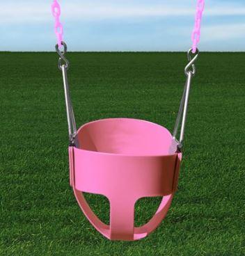 Gorilla Playsets Full Bucket Toddler Swing Pink Walmart