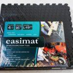 Interlocking Gym Garage Anti Fatigue Flooring Play Mats 16sqft D-Easimat