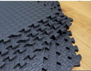Interlocking Gym Garage Anti Fatigue Flooring Play Mats 32sqft D-Easimat 2