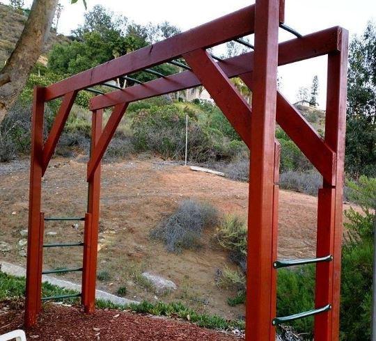 Metal Swing set Monkey bars 4