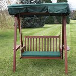 Quality Hardwood 2 Seater Garden Hammock Swing 1