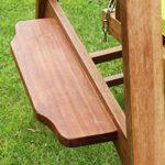 Quality Hardwood 2 Seater Garden Hammock Swing 3