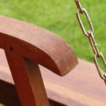 Quality Hardwood 3 Seater Garden Hammock Swing Seat 2