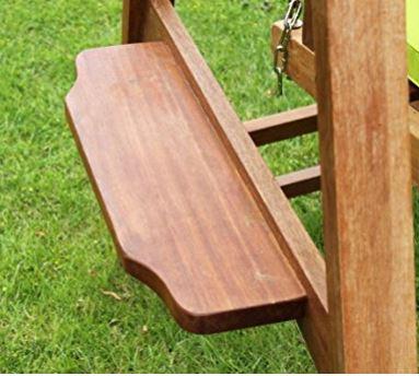 Quality Hardwood 3 Seater Garden Hammock Swing Seat 3