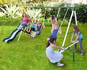 Sportspower Live oak Metal Swing Set
