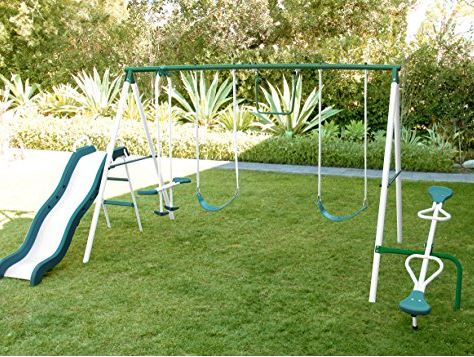 Sportspower Live oak Metal Swing Set Amazon 5