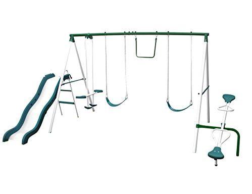 Sportspower Live oak Metal Swing Set Amazon