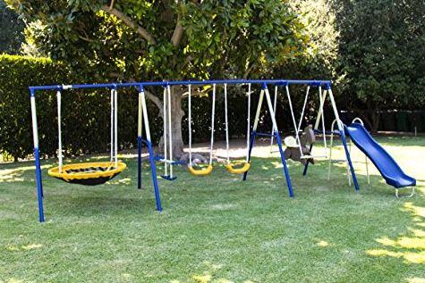 Sportspower Super 8 fun Metal Swing Set 3