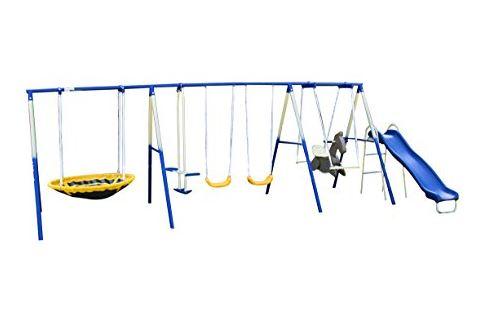 Sportspower Super 8 fun Metal Swing Set