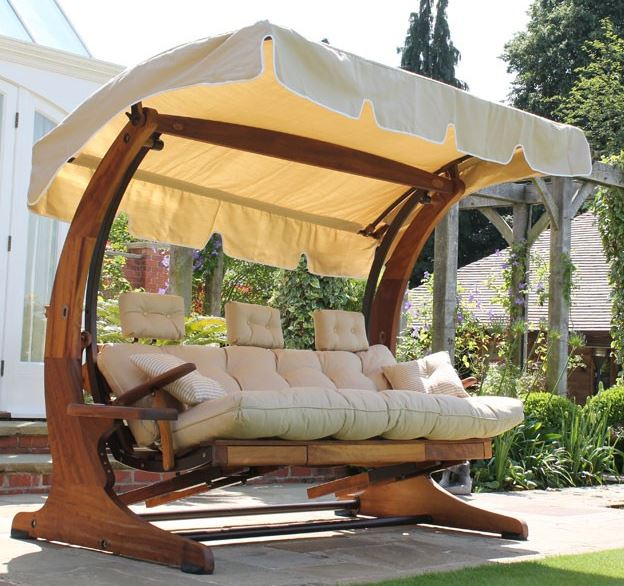 Summer Dream Swing Seat - 4 Seater with Foot Rests 1 Garden furniture centre