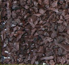 Swing Set Playground Rubber Mulch 75 Cu.Ft. Pallet-Chocolate Brown