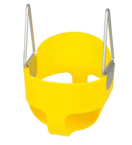 Swing Set Stuff Highback Full Bucket Swing Seat yellow Walmart