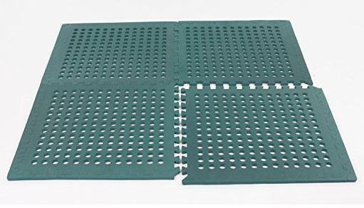 Swing Slide Play Garden Safety Green mats 16sq ft K- Easimat branded mats 3