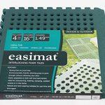 Swing Slide Play Garden Safety Green mats 16sq ft K- Easimat branded mats 5