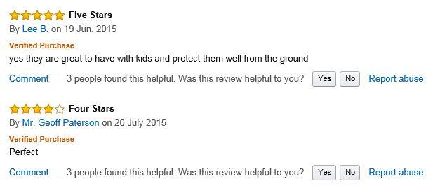 Swing Slide Play Garden Safety Green mats 16sq ft K- Easimat branded mats positive comments