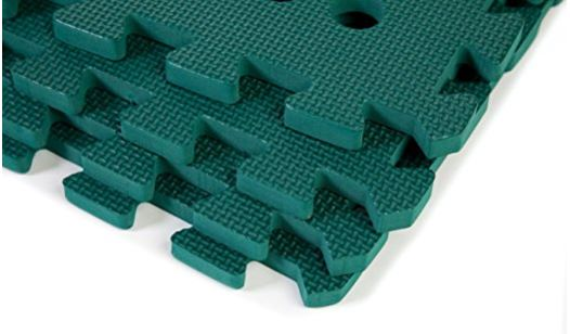 Swing Slide Play Garden Safety Green mats 32sq ft K - Easimat branded mats 3
