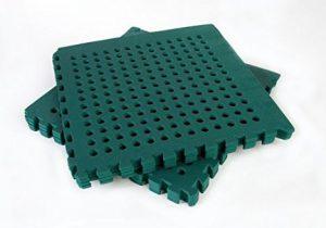 Swing Slide Play Garden Safety Green mats 32sq ft K - Easimat branded mats