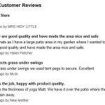 Swing Slide Play Garden Safety Green mats 32sq ft K - Easimat branded mats recent reviews