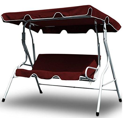 Swing bench garden hammock swing seat swinging seater