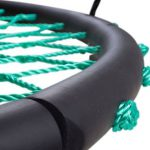 Swinging Monkey products Tarzan Tire 40 Spider Web Swing, Green 3