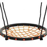 Swinging monkey products 24 Spider Web Playground Orange