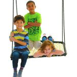 Swinging monkey products Large 36 Spider Web Platform Web tree Swing