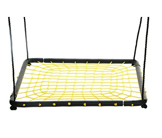 Swinging monkey products Large 36 Spider Web Platform Web tree Swing 2