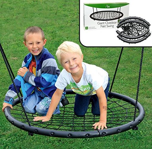 Tree Net Swing- Giant 40 Wide Two Person Outdoor Swing 4