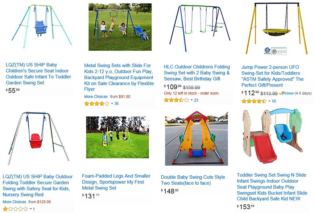 Cheap Swing Sets Amazon
