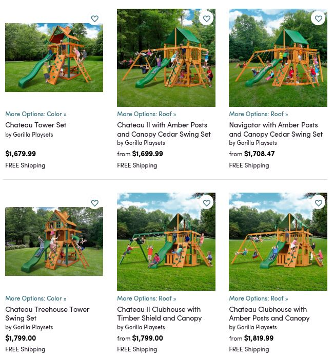 Gorilla Playsets 2, Wayfair