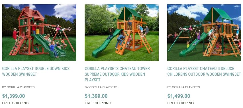 Beau ... Gorilla Playsets, Chicago, Home And Patio Decor Center