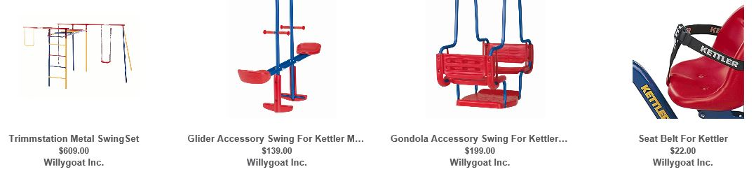 Kettler Swing sets Willygoat