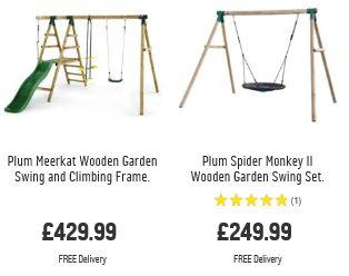 Plum Swing Sets 3, Argos UK