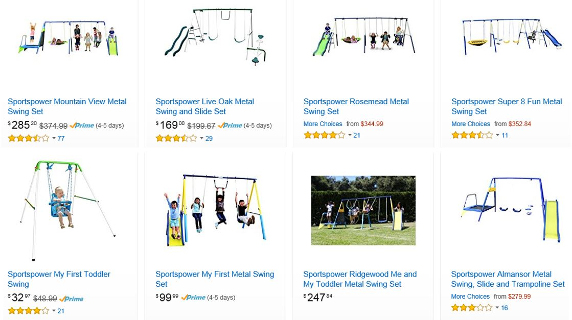 Sportspower Swing Sets Amazon 1