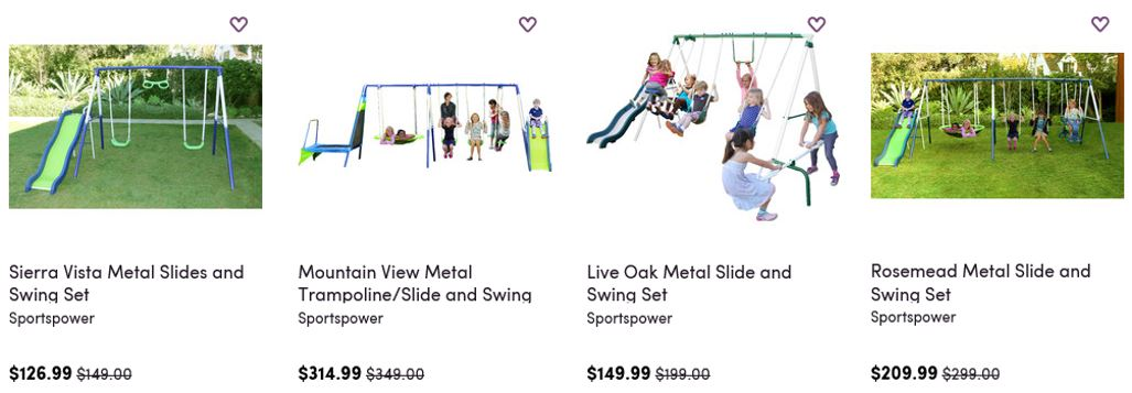 Sportspower Swing Sets, Wayfair