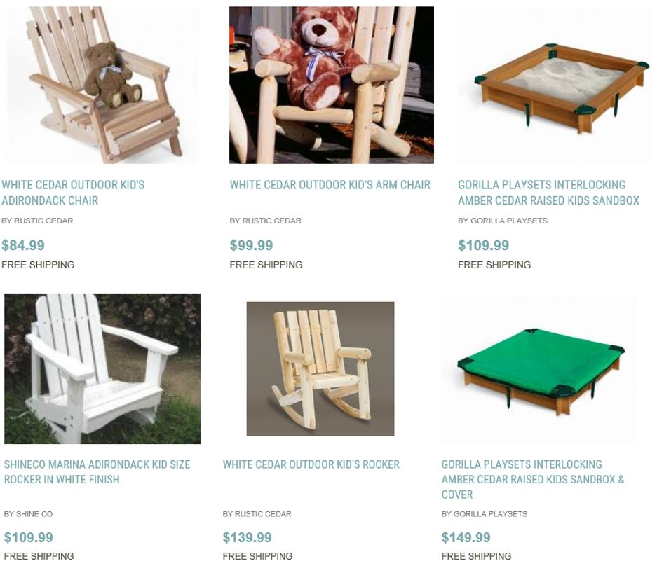 Outdoor For Kids, Home And Patio Decor Center 1 ...