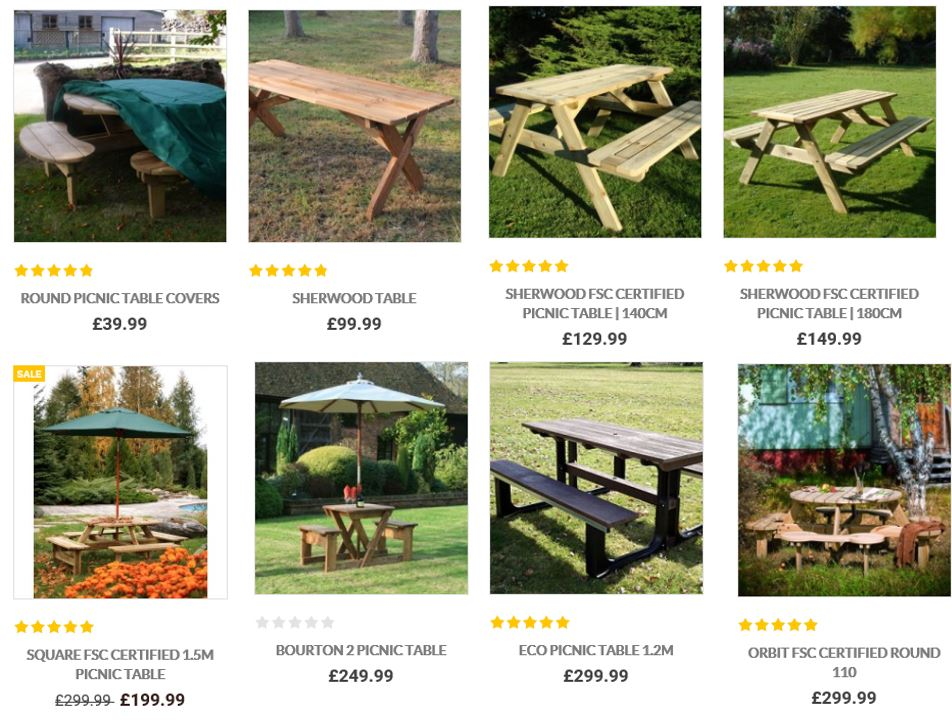 Picnic Tables from the Garden Furniture Centre UK. Picnic Tables from the Garden Furniture Centre UK   Swing Set