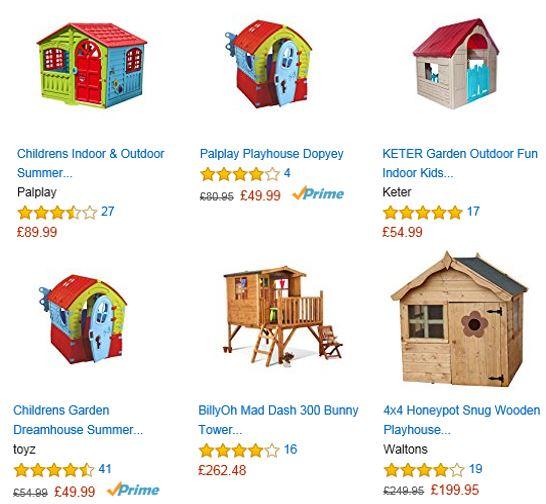 Playhouses from Amazon UK 1