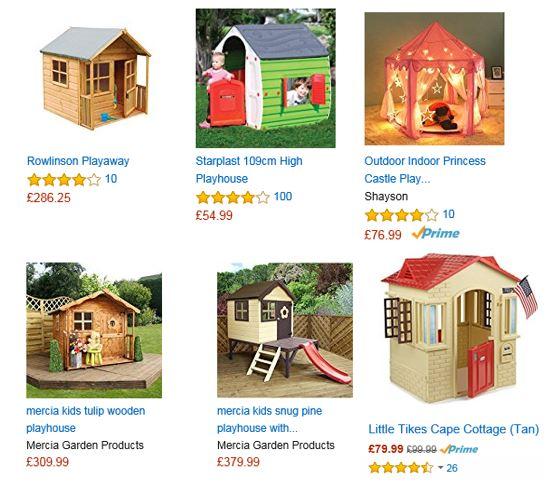 Playhouses from Amazon UK 2