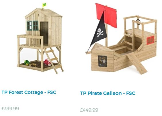 Playhouses from TP Toys UK 2