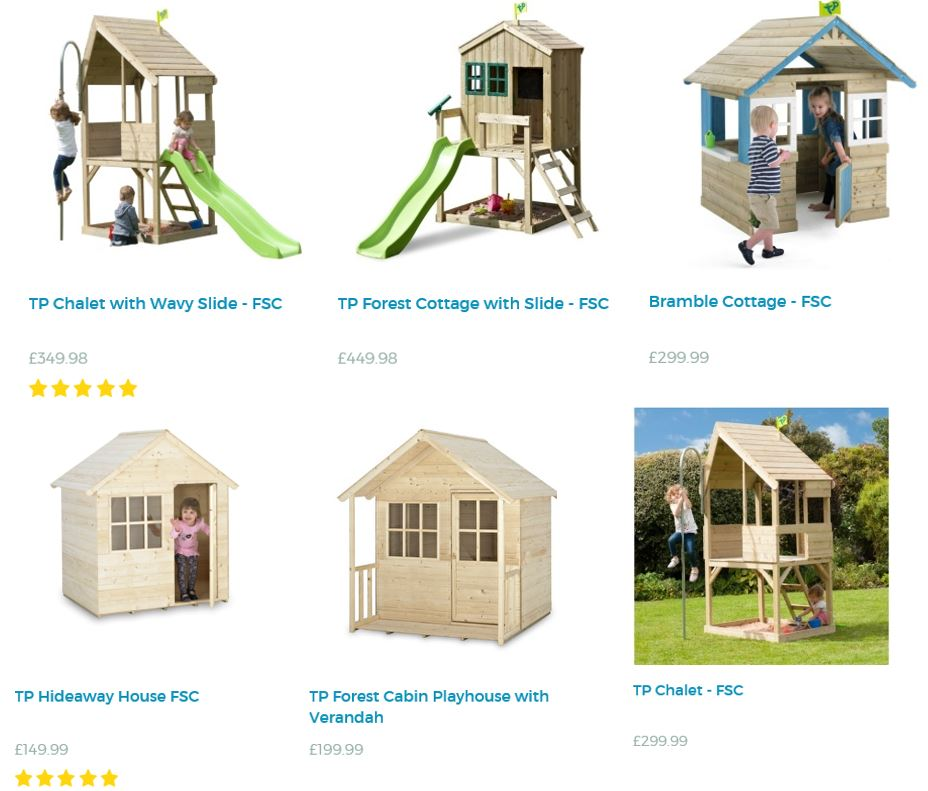 Playhouses from TP Toys UK